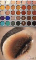 Nicki Minaj And Ariana Grande New Music Video Beds Eyeshadow Makeup Look – Luxury Makeup Loading. Nicki Minaj And Ariana Grande New Music Video Beds Eyeshadow Makeup Look – Luxury Makeup Makeup Eye Looks, Eye Makeup Steps, Love Makeup, Skin Makeup, Makeup Inspo, Eyeshadow Makeup, Makeup Ideas, Peach Eyeshadow, Makeup Tutorials