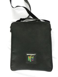 Official Nintendo 64 Game System Carrying Case Storage Travel Bag