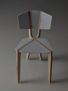 Chair Model on Behance #pin_it @mundodascasas See more Here: www.mundodascasas.com.br