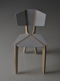 Chair Model on Behance #pin_it @mundodascasas See more Here: www.mundodascasas.com.br