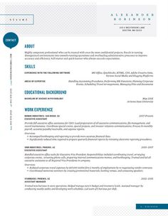 Resume Template | Shearling Point Blue – Loft Resumes