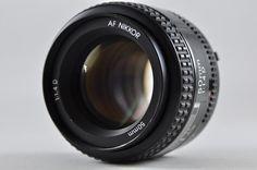 [Exc] Nikon AF NIKKOR 50mm F1.4 D lens For Nikon F-Mount #Nikon