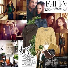 """""""Fall TV Previews"""" by mars ❤ liked on Polyvore"""