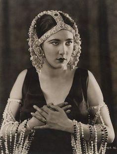 Nita Naldi (1894 – 1961) was an american silent film actress.  Her real name was Nonna Doole.