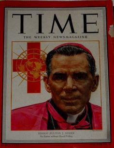 Bishop Sheen on TIME magazine