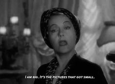 SUNSET BOULEVARD ( 1950) ~ Gloria Swanson.