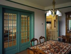 Merwedeplein 37 living room and dining area - renovated and refurnished Anne…