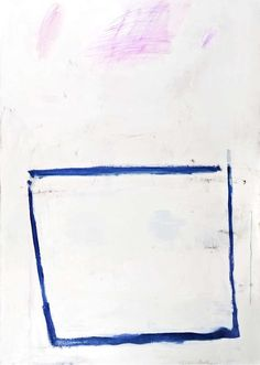 Blue Vessel | From a unique collection of abstract paintings at http://www.1stdibs.com/art/paintings/abstract-paintings/
