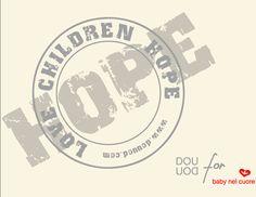 LOVE CHILDREN HOPE #charity #bag