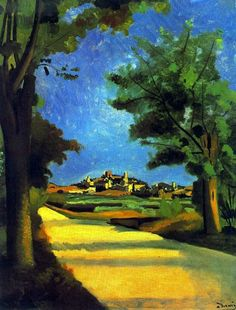 André Derain 1880-1954   French Fauvist painter and sculptor