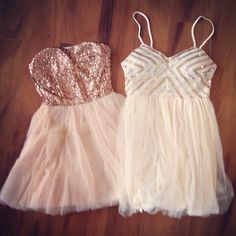 I BOUGHT THE DRESS ON THE RIGHT