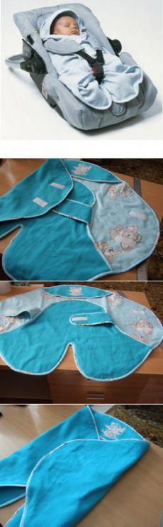 Конверт BABYNOMADE - укутывающее многофункциональное одеяло.