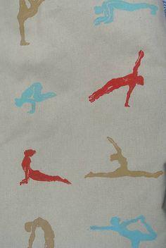 Veľký batoh s motívom yoga