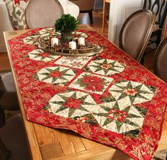 Love the idea.  Really pretty for Christmas or for another holiday with a different color scheme.