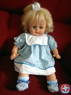 Antiga Boneca Bebê Mamadinha Da Estrela Anos 80.funcionando. - R$ 100,00 no MercadoLivre