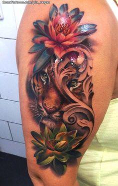 womens tattoos sleeve #Sleevetattoos Dope Tattoos For Women, Black Girls With Tattoos, Tattoos For Women Flowers, Sleeve Tattoos For Women, Small Girly Tattoos, Hand Tattoos, Mom Tattoos, Sexy Tattoos, Body Art Tattoos