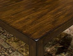 [+]  Janes Gallerie Kona Mango Wood 7-piece Dining Set (42 x 60-78 Bfly Dining)