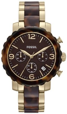 Fossil Women's JR1382 Natalie Two-Tone Stainless Steel Watch: Watches: Amazon.com