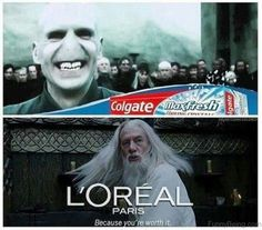 Adds in Harry Potter films
