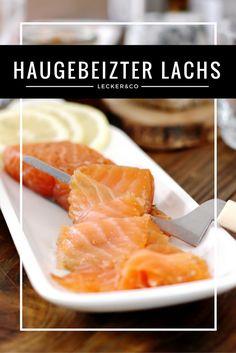 Hausgebeizter Lachs - perfekt für festliche Anlässe