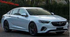 Leaked images of 2018 Chinese Buick Regal GS
