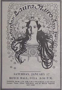Wish I had a real print of this gorgeous poster. Laura Nyro, Rock And Roll History, Concert Posters, Music Posters, Joan Baez, Damsel In Distress, Expressive Art, Rock Concert, Janis Joplin