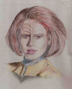 B'Elanna Torres by angelrah.deviantart.com on @deviantART Star Trek Voyager chief Engineer