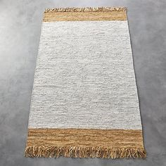 Natural Leather Dressage Rug 8'x10' | CB2