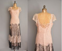 Etsy listing at https://www.etsy.com/listing/255129099/vintage-1930s-dress-french-lace-dress