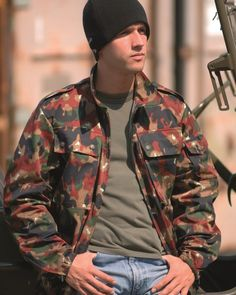 Swiss military surplus M83 Alpenflage Camo field jacket. New and unissued are out there just watch the sizing. This is the light weight 3 pocket version. Check out video reviews of Swiss military gear, lots of positive stuff on quality, get in while it's cheap!!!
