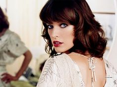 Milla Jovovich, my very favorite actress. She is popular for her role in the 5th Element and in the Resident Evil franchise.