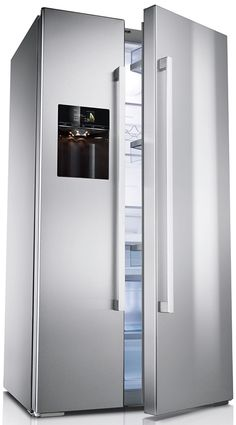 Trend The uA u rated LG G Zone GS NECZ refrigerator features the centrally