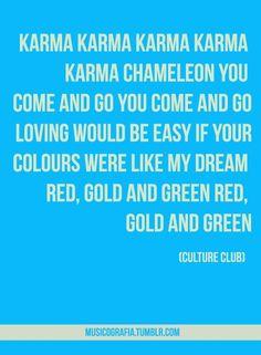 www.estacion71.com *ESTACION 71* Culture club - karma chameleon