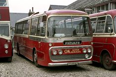 Leyland Leopard / Plaxton Panorama with OK Motors, new to Yorkshire Woollen. Bishop Auckland, Commercial Vehicle, Coaches, Buses, Yorkshire, Trains, Transportation, Classic Cars, Vehicles