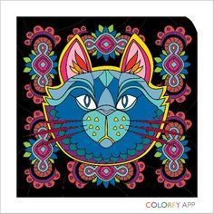 Color a cat