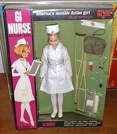 From the makers of GI Joe... GI Nurse! (1960s)