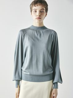 New Woman, Fasion, Blouse, Knitwear, Bell Sleeve Top, Spring Summer, Knitting, Detail, My Style