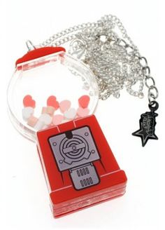 PUNKY PINS GUMBALL MACHINE NECKLACE