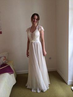 Robe de soirée de Princesse bleu nuit et blanche pas cher en 2013 ...