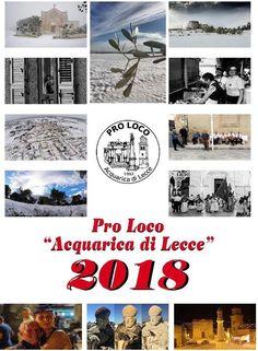 """Ho avuto il piacere e l'onore di poter contribuire con la mia fotografia al calendario 2018 della Pro Loco Acquarica di Lecce. Il calendario contribuisce alla raccolta dei fondi per aiutare il progetto """"BIMBULANZA 2.0"""" di Don Gianni Mattia.   Grazie a tutti i componenti della Pro Loco"""