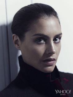 Hannah Ware is ready for fall in a Proenza Schouler turtleneck.