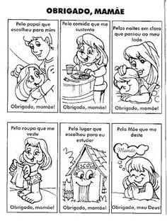 """Atividades Sobre o Dia das MÃES ~ """" Cantinho do Educador Infantil """""""