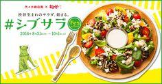 代々木商店街×キユーピーが発信する渋谷生まれのサラダをたのしむ、#シブサラFes in 代々木。#シブサラをオーダーしてスタンプラリーに参加しよう!
