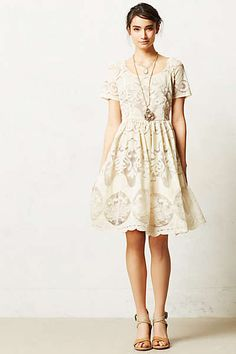 Anthropologie - Ivoire Dress