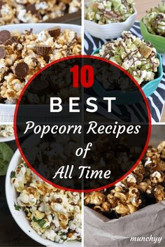 Best Popcorn Recipes of All Time
