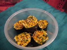 Crucuit de légumes et tofu grillé sauce sésame.