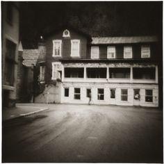 Town, Pomeroy, Ohio, 1971 10 x 8 inches vintage silver print
