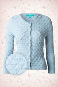 Fever Positano Blue Knitted Cardigan 140 30 13989 20150205 0004W2
