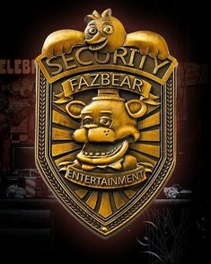 Five Nights at Freddy's Fazbear Security Badge Pin Bronze 2 Fnaf Five Nights At Freddy's, Security Badge, Freddy 's, Fnaf Sl, Fnaf Sister Location, Canada Images, Freddy Fazbear, Funny Bunnies, Creative Pictures