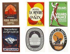 vintage steamtrunk labels, a printable digital download sheet